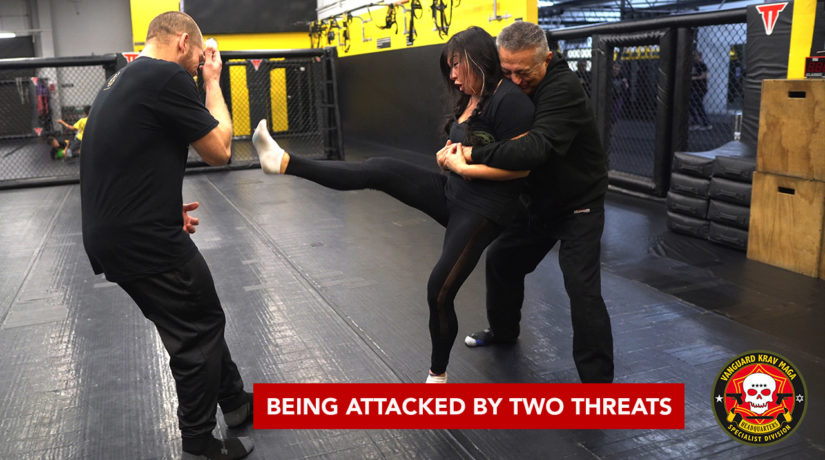being-attacked-two-threats-krav-maga