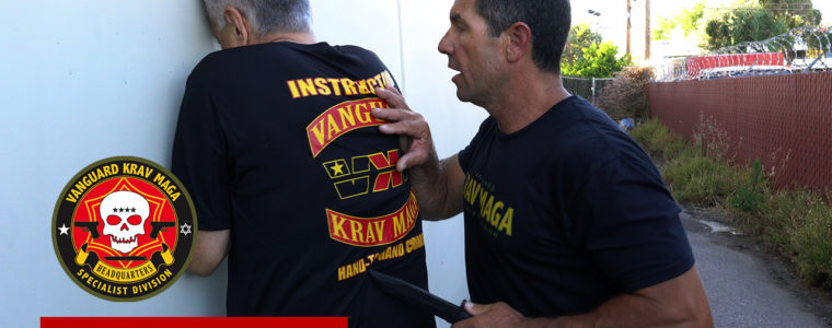 kravmaga-knifepushinginback